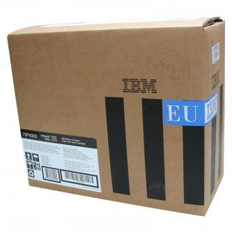 IBM originální toner 75P4303, black, 21000str., return, IBM 1332, 1352, 1372