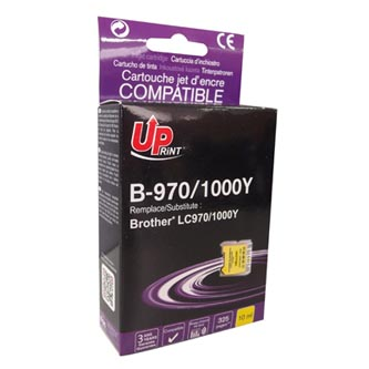 UPrint kompatibilní ink s LC-1000Y, yellow, 10ml, B-970Y, pro Brother DCP-330C, 540CN, 130C, MFC-240C, 440CN