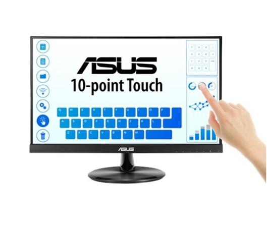"ASUS VT229H 21.5"" Monitor, FHD(1920x1080), IPS, 10-point Touch Monitor, HDMI, Flicker free, Low Blue Light, TUV"