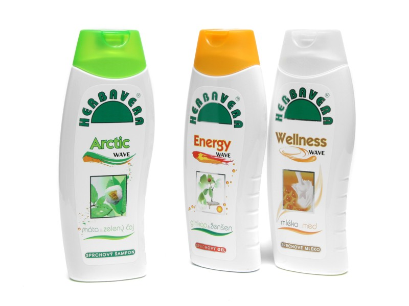Sprchový gel Herbavera 250 ml - WELLNESS