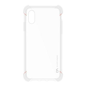 Kryt na iPhone X, transparentní, TPU, DA Marvo