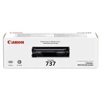 Canon originální toner CRG737, black, 9435B002, Canon MF229dw, MF226dn, MF217w, MF216n, MF212w, MF211
