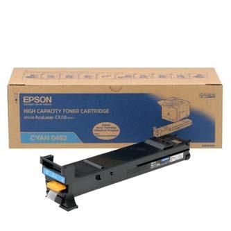 Tonerová cartridge Epson AcuLaser CX28DN/CX28DNC/CX28DTN/CX28DTNC, cyan, C13S050492, 8000s, O