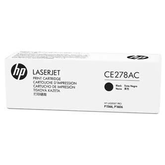 HP originální toner CE278AC, black, 2100str., 78A, HP LaserJet Pro P1566, M1536
