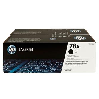 HP originální toner CE278AD, black, 4200 (2x2100)str., 78A, HP LaserJet Pro P1566, M1536, Dual pack 2ks
