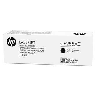 HP originální toner CE285AC, black, 1600str., 85A, HP LaserJet Pro P1102, M1132, M1212