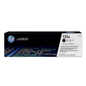 HP originální toner CF210A, black, 1600str., 131A, HP LaserJet Pro 200 M276n, M276nw,, 600g