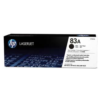 HP originální toner CF283A, black, 1500str., 83A, HP LaserJet Pro MFP M125nw, MFP M127fn, MFP M127fw, 830g