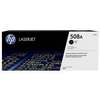 HP originální toner CF360A, black, 6000str., HP 508A, HP Color LaserJet Enterprise M552, M553, 2850g