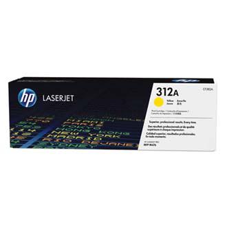HP originální toner CF382A, yellow, 2700str., 312A, HP Color LaserJet Pro MFP M476dn, MFP M476dw, MFP M47, 720g