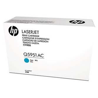 HP originální toner Q5951AC, cyan, 10000str., HP for Color LaserJet 4700, 4700dn, 4700dtn, 4700n, 4, kontraktový produkt