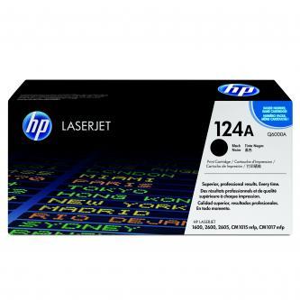 HP originální toner Q6000A, black, 2500str., 124A, HP Color LaserJet 1600, 2600n, 2605