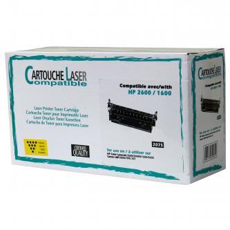 Tonerová cartridge pro HP Color LaserJet 1600, 2600n, 2605, yellow, 2000s, N
