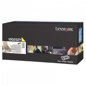 Tonerová cartridge Lexmark C752, C762, X752e, X762e, yellow, 15G032Y, 15000s, high capacity, O