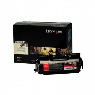 Tonerová cartridge Lexmark T640, T642, T644, black, 64036HE, 21000s, O