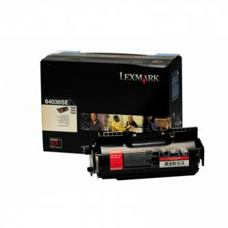 Tonerová cartridge Lexmark T640, T642, T644, black, 64036SE, 6000s, O