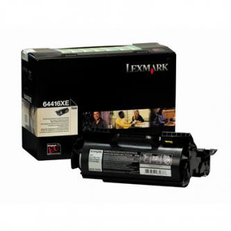 Tonerová cartridge Lexmark T644, black, 64416XE, 32000s, return, O