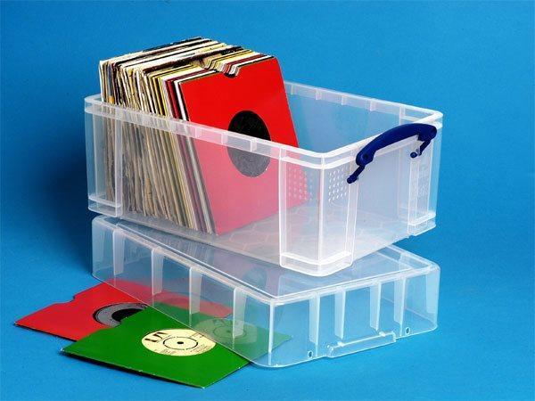 Box, plastový, s víkem, 9 l, průhledný, REALLY USEFUL