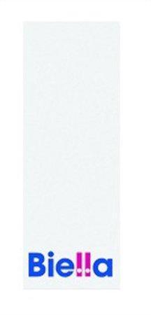 Štítek pro pákové pořadače, bílý, oboustranně popisovatelný, 27x74 mm, BIELLA