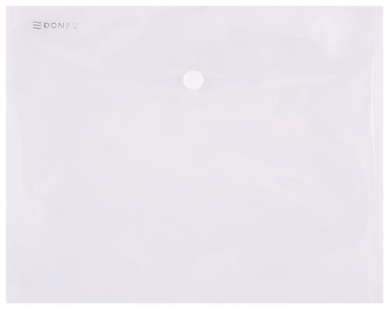 Spisové desky s drukem, transparentní, PP, A5, 240x180x0,18, DONAU