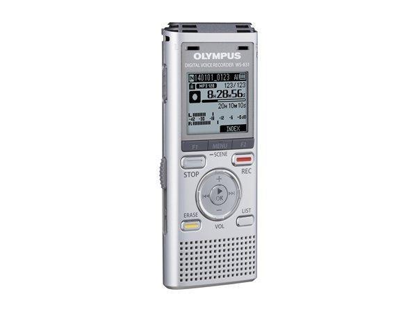 "Diktafon ""WS-831"", digitální, paměť 2 GB, OLYMPUS"