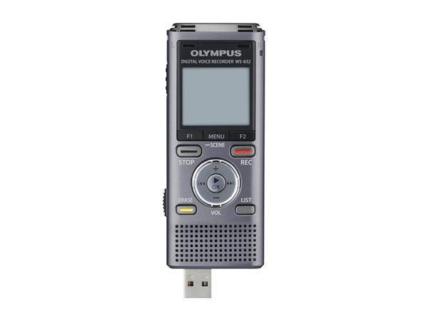 "Diktafon ""WS-832"", digitální, paměť 4 GB, OLYMPUS"
