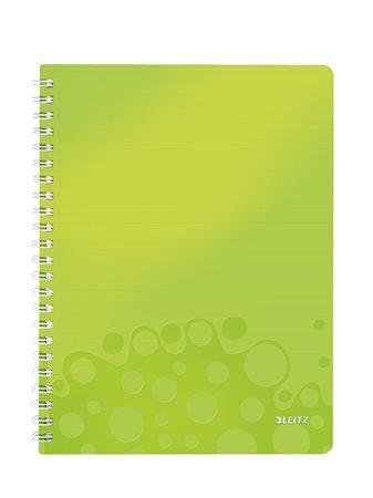 Blok na psaní Leitz WOW, Metalická zelená