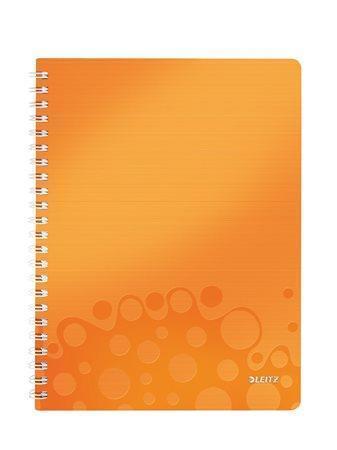 Blok na psaní Leitz WOW, Metalická oranžová