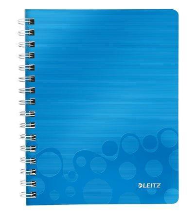 Blok na psaní Leitz WOW, Metalická modrá