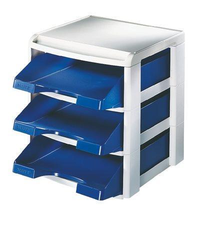 Stohovací systém Leitz Plus, Modrá