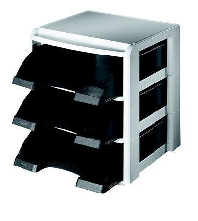 Stohovací systém Leitz Plus, Černá