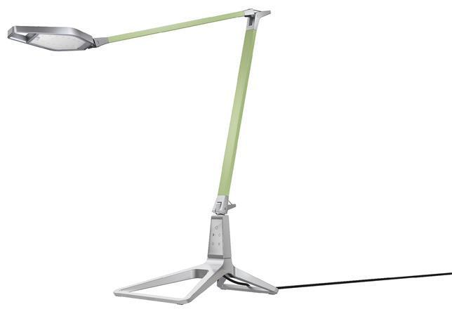 """Stolní lampa, LED, LEITZ """"Style Smart"""", zelenkavá"""