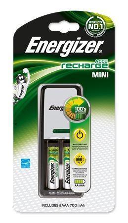 "Nabíječka baterií, AA/AAA, 2x700 mAh AAA, ENERGIZER ""Mini"""
