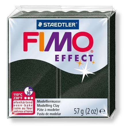 FIMO® efekt černá perleťová 57g
