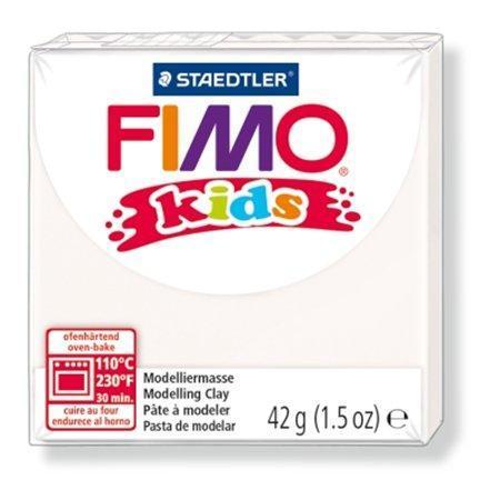 Modelovací hmota FIMO® kids 8030 42g bílá