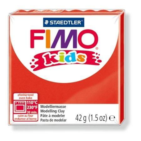 Modelovací hmota FIMO® kids 8030 42g červená