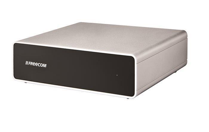 """3,5"""" HDD (hard-disk), 5TB, USB 3.0, Firewire 400/800, eSata, FREECOM """"Hard Drive Quattro"""""""