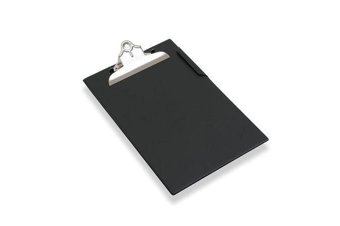 Psací podložka s klipem, černá, A4, velká kapacita, RAPESCO