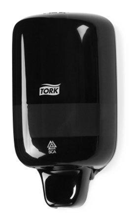 """Zásobník na tekuté mýdlo """"Dispenser Soap Liquid Mini"""", černá, TORK"""