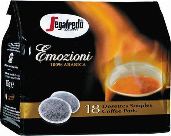 "Kapsle do kávovaru, 18x7 g, SEGAFREDO ""Emozioni"""