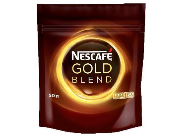 """Káva, instantní, náhradní balení, 50 g, NESCAFÉ """"Gold"""""""