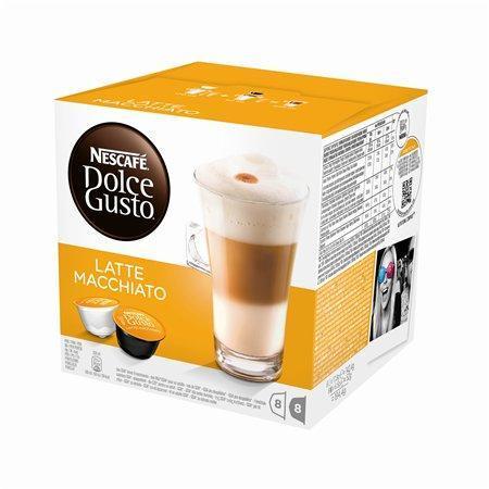 """Kapsle do kávovaru, 16 ks, NESCAFÉ """"Dolce Gusto Latte Macchiato"""""""