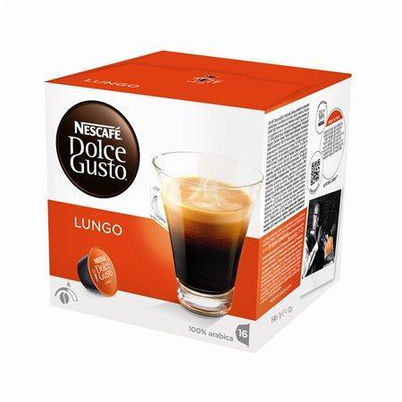"""Kapsle do kávovaru, 16 ks, NESCAFÉ """"Dolce Gusto Caffé Lungo"""""""