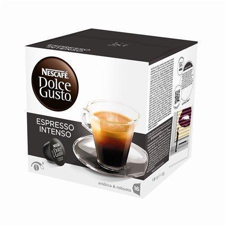 """Kapsle do kávovaru, 16 ks, NESCAFÉ """"Dolce Gusto Espresso Intenso"""""""