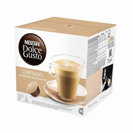 """Kapsle do kávovaru, 16 ks, NESCAFÉ """"Dolce Gusto Cortado"""""""