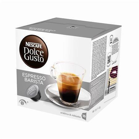 """Kapsle do kávovaru, 16 ks, NESCAFÉ """"Dolce Gusto Espresso Barista"""""""