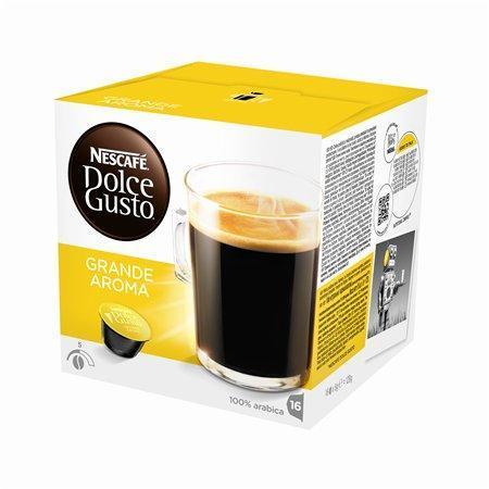 """Kapsle do kávovaru, 16 ks, NESCAFÉ """"Dolce Gusto Grande Aroma"""""""