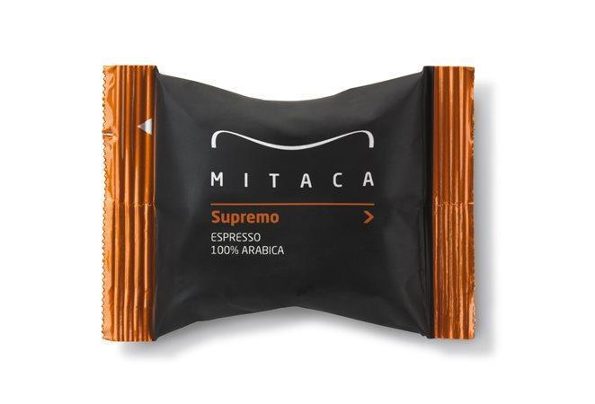 """Kapsle do kávovaru, 100 ks, MITACA """"i-espresso Supremo Espresso"""""""