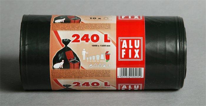 Pytle na odpadky, 240 l, 10 ks, ALUFIX
