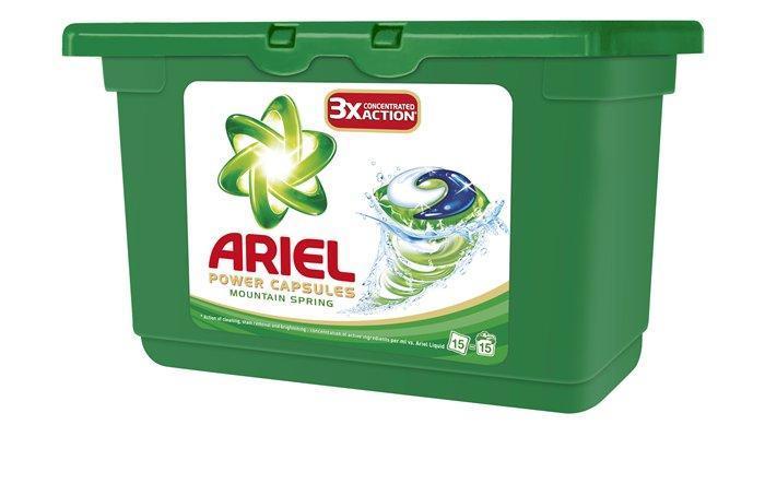 "Prací gel ""Mountain Spring "", 15 ks, Ariel"